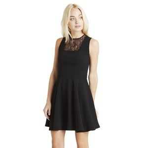 Square Front Lace Dress